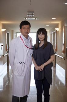 勝村政信、『ドクターY』初登場の倉科カナ&子役の凛ちゃんにメロメロ