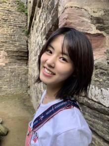 竹内愛紗、夏休みに英国留学 芸術祭を体感&語学力向上誓う「仕事に結びつけられるように」