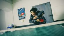 窪塚洋介、17年ぶりに卓球姿を披露「懐かしかった」 斎藤工「すごい勢い!CG みたい!」と絶賛