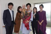 三浦春馬、撮了で「父親役は大きな財産」 娘役・稲垣来泉は「ずっと娘でいさせて」
