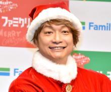 香取慎吾、クリスマスの予定は「子どもと奥さんと過ごす」 冗談も報道陣から笑いとれず