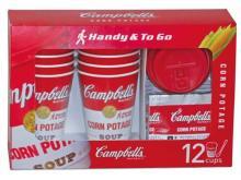 コストコ限定!キャンベルのカップ付きインスタントスープ