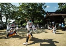厳かに優美に舞う、佐賀県武雄市の民俗芸能「武雄の荒踊」