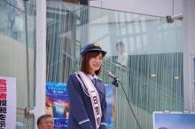 瀬戸麻沙美、初の一日警察署長 アニメ『青ブタ』舞台の藤沢で交通安全宣言