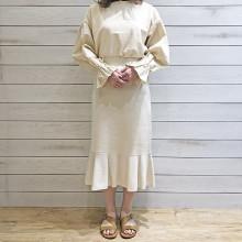 【#今週のGU新作 】秋冬物が続々登場!韓国っぽい雰囲気の「ニットマーメイドスカート」は見逃せない♡