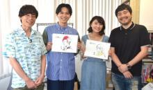 吉沢亮&若山詩音、アニメ『空青』制作スタジオへ潜入 『あの花』『ここさけ』チームの仕事場に「感動しました」