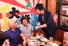 西野亮廣、中村俊介が来店「本音でハシゴ酒」のお店紹介in月島