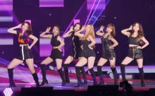 【GirlsAward】ガールズグループRocket Punch、堂々パフォーマンス 元AKB48高橋朱里が所属