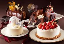 かわいい汽車型、真っ白な大人ケーキも新登場♡横浜ベイホテル東急、クリスマスアイテムの予約受付が10月スタート♩