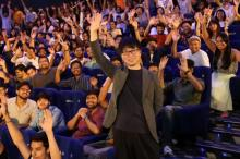 映画大国インドで『天気の子』旋風 新海誠監督「3年後くらいにまた来たい」