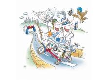 """日本開催!手作りカートで競うレッドブル""""おバカ""""レース"""