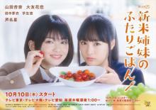 『新米姉妹のふたりごはん』主題歌はコレサワ、芦名星の出演も発表