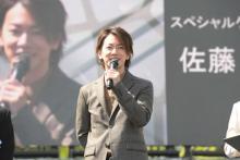 佐藤健、熊本城復旧記念イベントにサプライズ登場「この日を待ち望んでいた!」