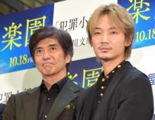 綾野剛&佐藤浩市、書店での映画イベントに喜び「お互いに寄せ合っていけたら…」