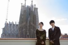 吉沢亮、初めてのスペインを満喫 吉岡里帆と国際映画祭に登壇