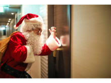 サンタがお部屋にやってくる!クリスマス特別プランが登場
