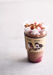 """ローステッド コーヒー ラボラトリーが""""アルプスの少女ハイジ""""とコラボ。東急東横店限定で5つのメニューが登場"""