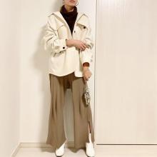今すぐ着られるショート丈アウターが欲しい♡プチプラなのにかわいい、GUのおすすめアウター集めました!