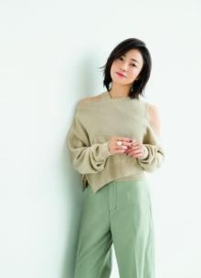 菅野美穂、新作ニットまとい女っぽさ&大人の色香で魅了 体型ケアの秘訣も紹介