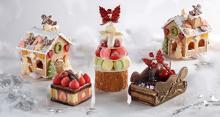 クリスマスにかわいいケーキが欲しい人はマストチェック!メルヘンな3種類のケーキがシェラトン都ホテル大阪にお目見え♡