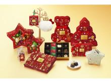 パッケージも可愛い!「ゴディバ」のクリスマスコレクション