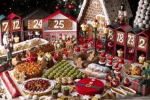 各国の伝統菓子が大集合!ヨーロッパのクリスマスマーケットみたいなヒルトン名古屋の冬ビュッフェが楽しそう♩