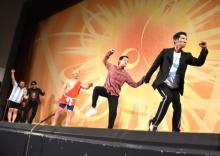 【京都国際映画祭】謹慎芸人が詐欺啓発コントを劇場初披露 HG「勉強になって笑える最強のコント」