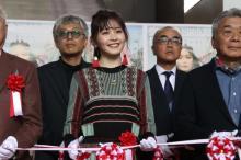 久間田琳加、初のテープカットに挑戦 『SHIBUYA HARAJUKU FASHION FESTIVAL』