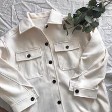 少し寒い今の時期にぴったり。GUの「オーバーサイズシャツジャケット」で作るコーデがこなれかわいいんです♡