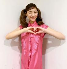 新木優子、ツインテール×ウィンク披露 「メロメロですw」「甘やかしたいw」と反響