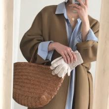"""お世辞なしで本当に1枚でかわいい「ロング丈コート」。おしゃれさんの間で人気なのは""""あの韓国通販""""でした◎"""