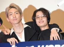 塩野瑛久、応援上映の熱気に圧倒 前田公輝と熱い訴え「社会現象になってほしい」