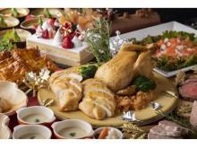 和・洋・スイーツが味わえる「クリスマスランチビュッフェ」