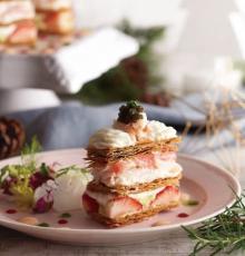 名物スイーツをイメージした「デザートのような料理」がメイン♩キハチ青山本店のクリスマスコースは映え度も抜群なんです!