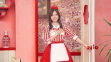 白石麻衣がキュートなウェイトレス姿を披露、石田ゆり子とガチャピン・ムックが共演【注目CM】