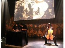 サンドアート×チェロ×人形!幻想的でロマンチックな音楽劇