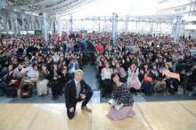 西川貴教、滋賀県が盛り上がり喜び 『スカーレット』で芸術家・ジョージ富士川役