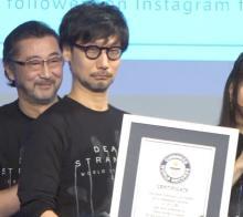 小島秀夫監督、2つのギネス記録認定も自虐「フォロワー数が減っている」