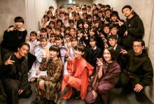 "Perfume""沼にハマった""高校生53人と一夜限定ステージ"