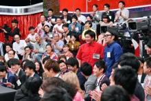 さんま、関西若手芸人100人とトーク 月収100万超えの若手芸人にスタジオ悲鳴