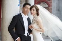 EXILE AKIRA&リン・チーリン夫妻 永遠の幸せを誓う 台湾・台南で挙式&披露宴