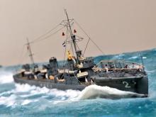 """「甲板で躍動する水兵の声が聞こえる…」大学生モデラーがプラモ制作で学んだ""""物語の重要性"""""""