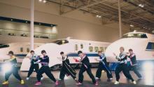 ボイメン、リニア・鉄道館でダンス 劇場版『シンカリオン』主題歌MV
