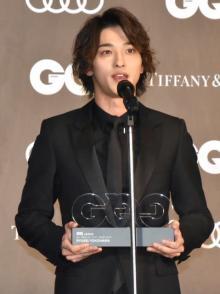 横浜流星、受賞多数に「驚いてる」 『GQ MEN OF THE YEAR 2019』