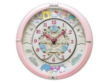 """正時になるのが楽しみ!サンリオの人気キャラが大集合した""""からくり時計"""""""