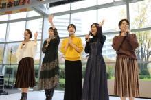 テレ朝女性アナウンサー、カレンダーをPR 本間アナ「自信作です!」