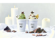 """""""クリスマスツリー""""がデコれる「BOTANIST cafe」のホットチョコレート"""
