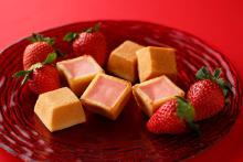 """パッケージのオシャレさにも惹かれます…♡「資生堂パーラー」の季節のチーズケーキが冬恒例の""""イチゴ""""に!"""