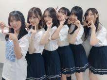 """乃木坂46若手メンバーの集団""""ハグ動画""""に反響「かわいいの大渋滞」"""