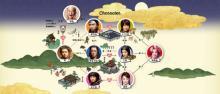 """笹野高史""""桃爺""""で三太郎に3年ぶり出演 過去CM&相関図も更新"""